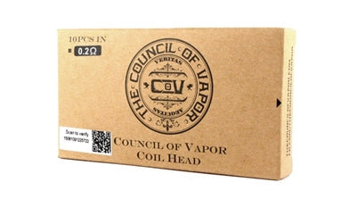 Council Of Vapor Mini Vengeance & Defiant Coil (Pack of 5)