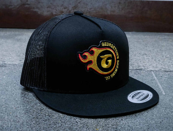 Georgetown Brewing Black Trucker Hat