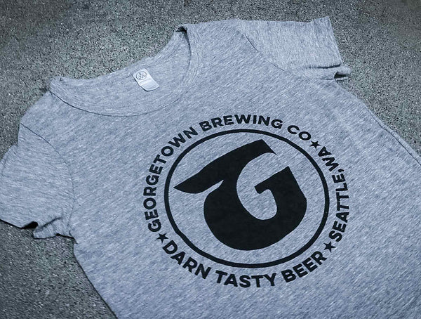 Georgetown Brewing Women's Grey T-shirt