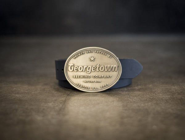 Georgetown Brewing Belt Buckle