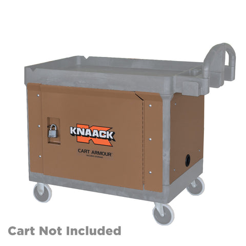 Knaack CA-01 Cart Armour Secured Storage for Rubbermaid Cart #4520-88
