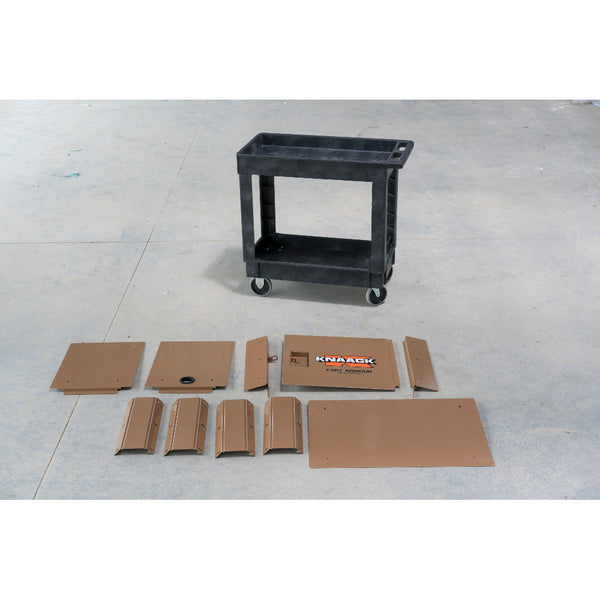Knaack Ca 01 Cart Armour Secured Storage For Rubbermaid