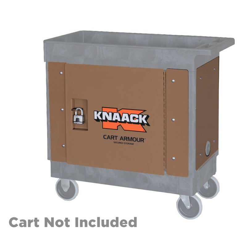 Knaack CA-02 Cart Armour Secured Storage for Rubbermaid Cart