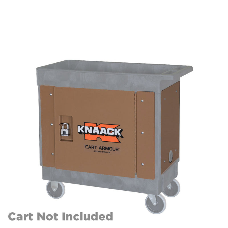 Knaack CA-03 Cart Armour Secured Storage for Rubbermaid Cart FG452089BLA and