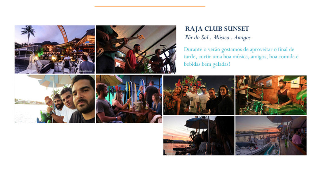 raja club sunset