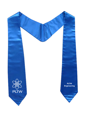 PLTW Blue Engineering Honor Stoles