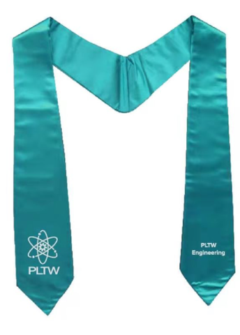 PLTW Engineering Honor Stoles