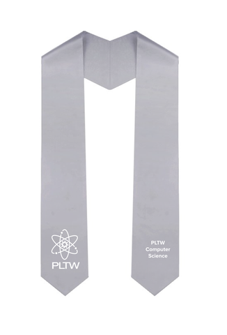 PLTW Silver Computer Science Honor Stoles
