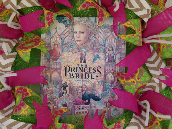 The Princess Bride Movie Poster Deco Mesh Door Wreath Fandom