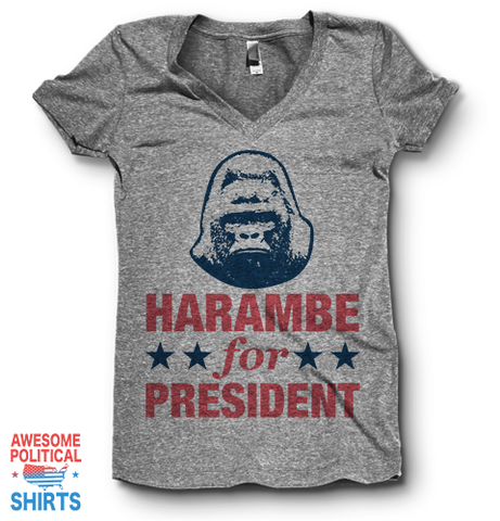 Harambe For President | V Neck