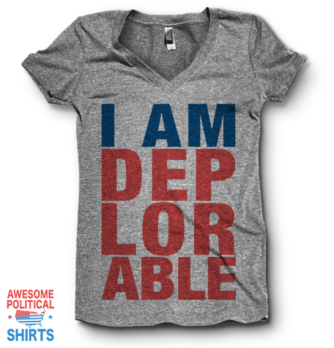 I Am Deplorable | V Neck