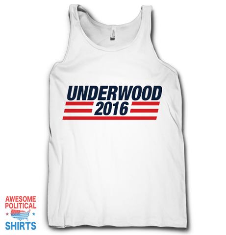 Underwood 2016 (2) on a Tanks at Awesome Political Shirts Dot Com
