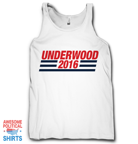 Underwood 2016 on a Tanks at Awesome Political Shirts Dot Com