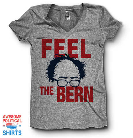 Feel The Bern | V Neck