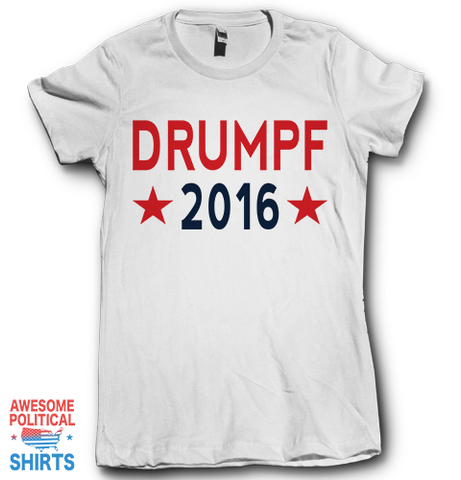 Drumpf 2016 on a Shirts at Awesome Political Shirts Dot Com