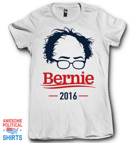 Bernie 2016 (2) on a Shirts at Awesome Political Shirts Dot Com
