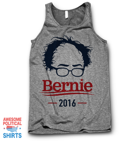 Bernie 2016 (2) on a Tanks at Awesome Political Shirts Dot Com