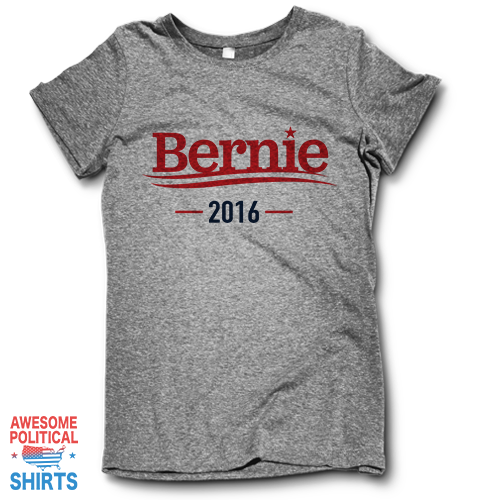 Bernie 2016 on a Shirts at Awesome Political Shirts Dot Com