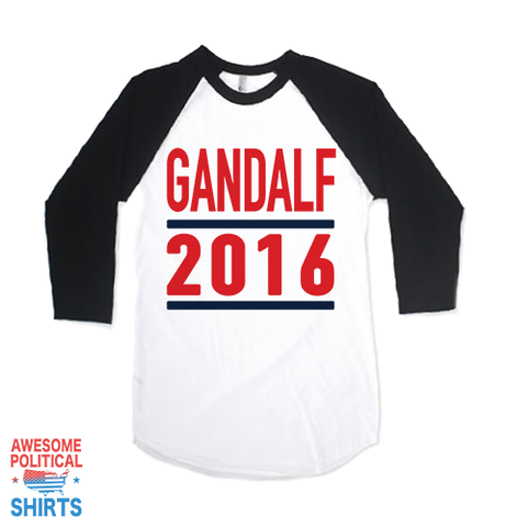 Gandalf 2016 on a Shirts at Awesome Political Shirts Dot Com