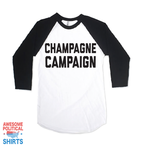 Champagne Campaign on a Shirts at Awesome Political Shirts Dot Com
