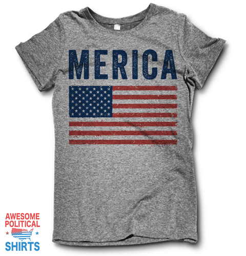 Merica on a Shirts at Awesome Political Shirts Dot Com