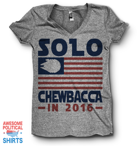 Solo / Chewbacca In 2016 | V Neck