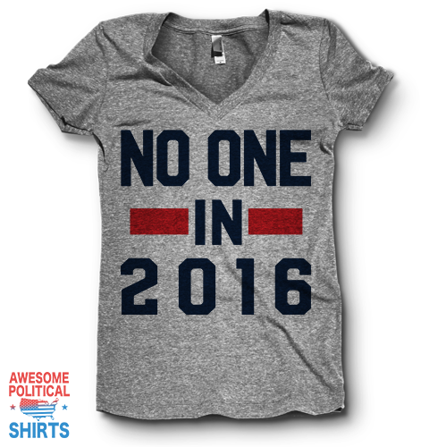 No One, In 2016 | V Neck