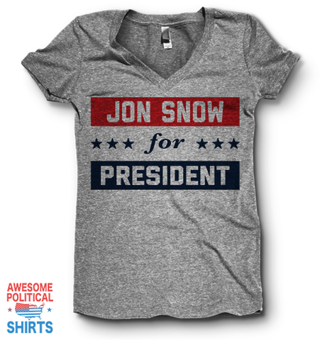 Jon Snow For President | V Neck