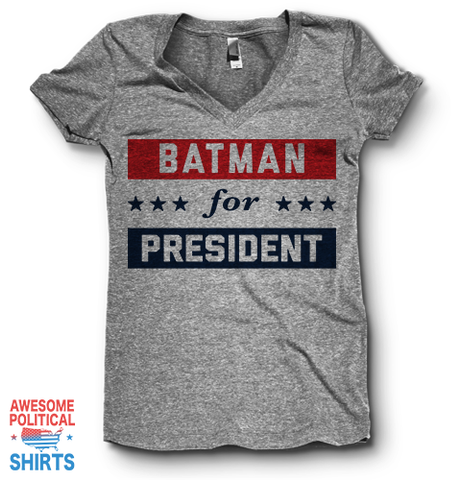 Batman For President | V Neck