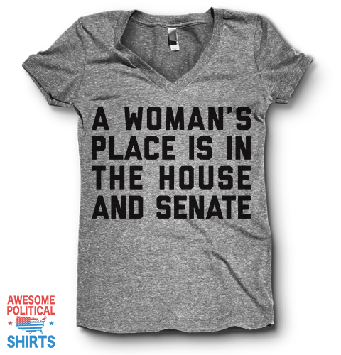 Is In The House And Senate | V Neck