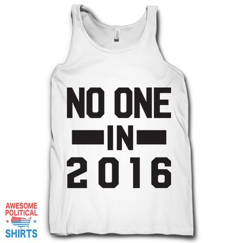 No One, In 2016 (Black)