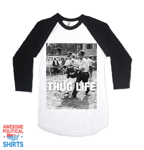 Bernie Sanders Thug Life on a Shirts at Awesome Political Shirts Dot Com