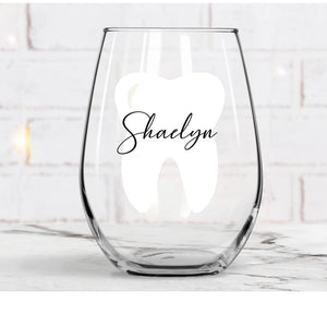 Dental Wine Glass