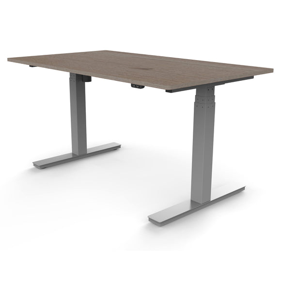 Single motor desks