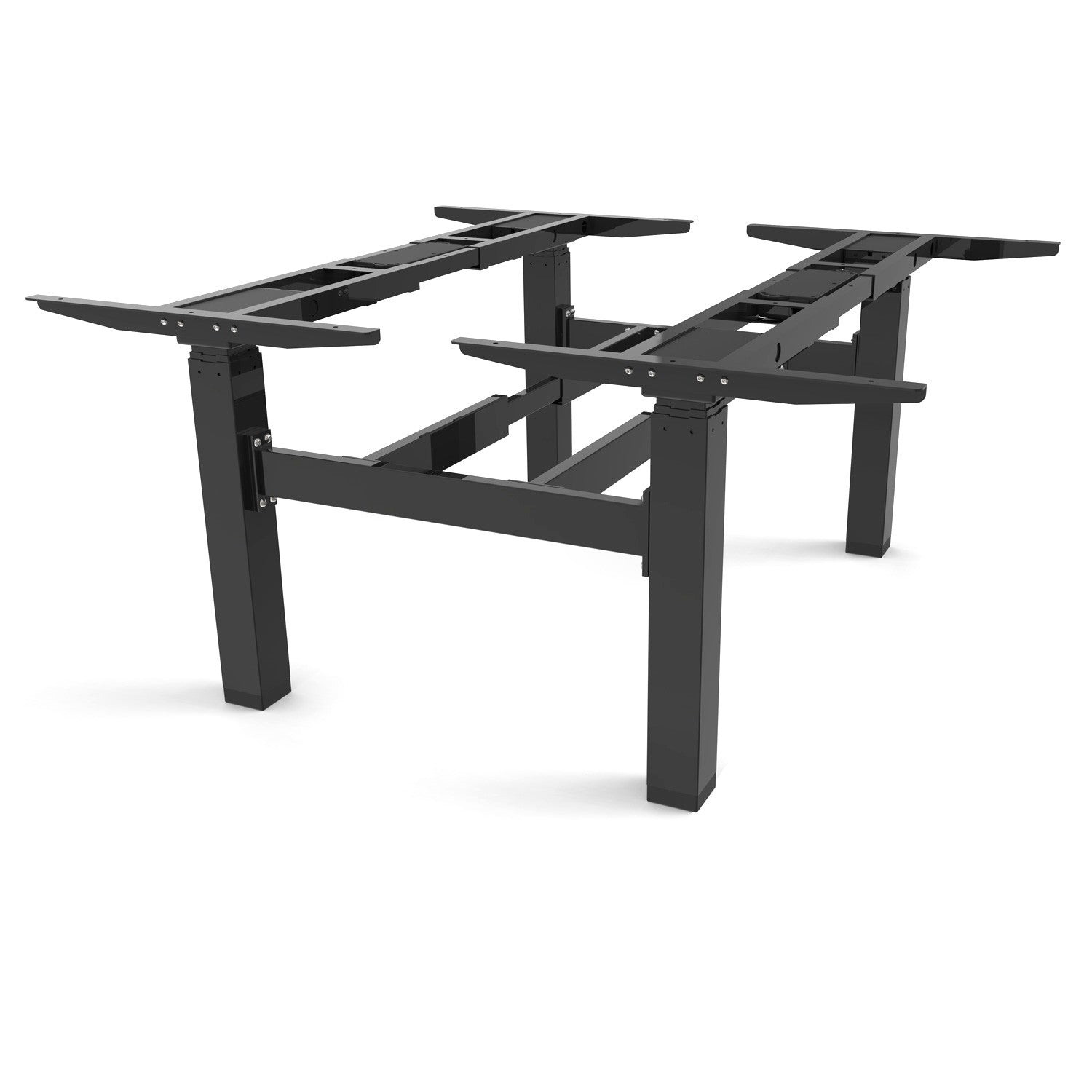 Series 2 Sit stand frame bench square leg