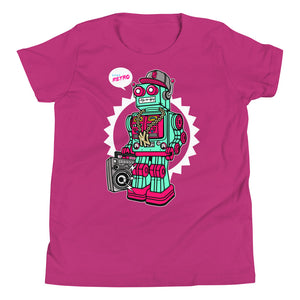 Oldschool Robot Youth T-Shirt