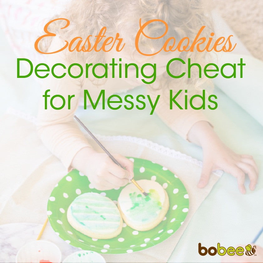 Easter Cookies Decorating Cheat for Messy Kids