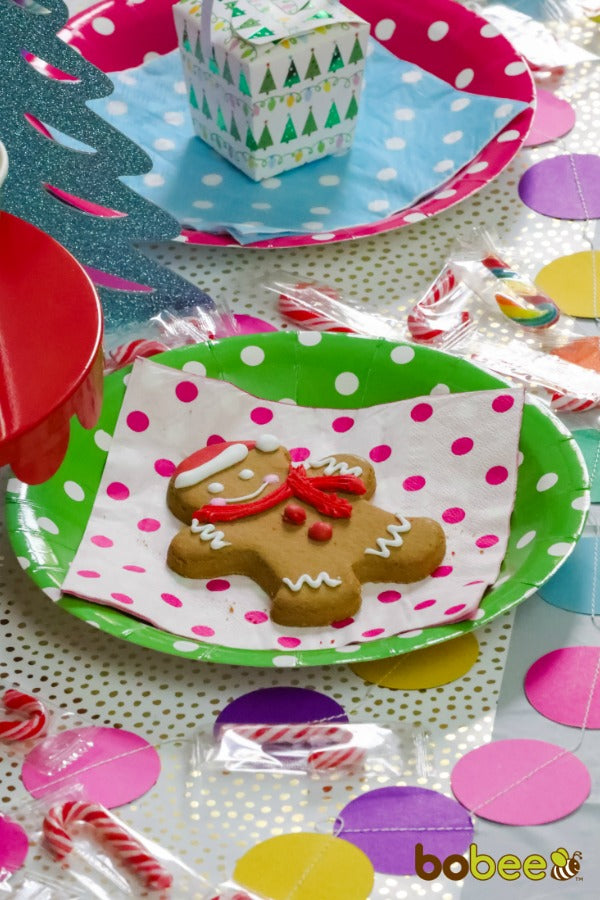 gingerbread cookie holiday party