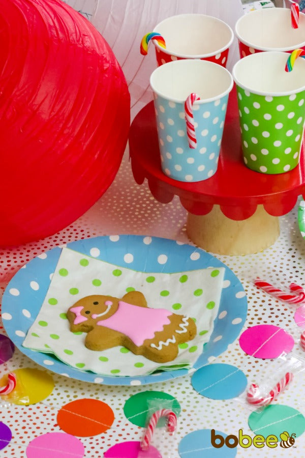 candyland table setting