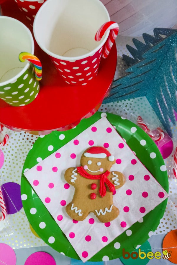 cookies candyland cups plates