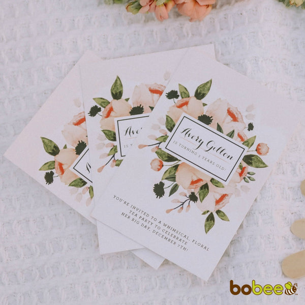 huckleberry paper invitations