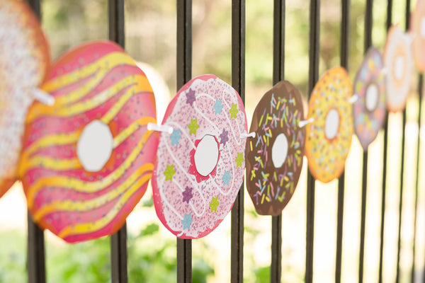Donut Banner Decorations