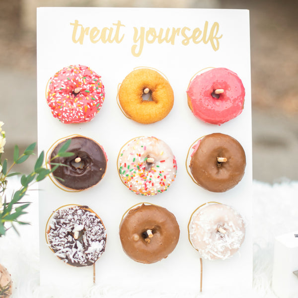 treat yourself donut wall stand