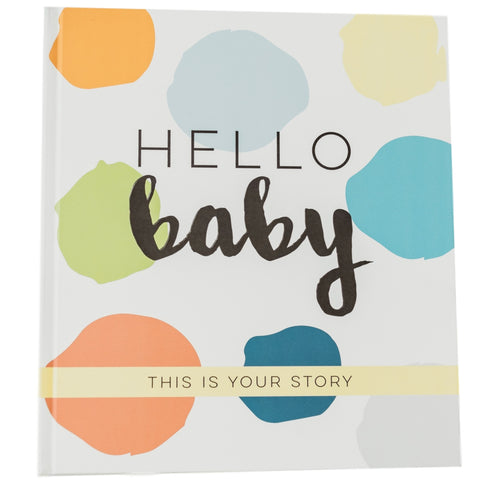 Baby Book Milestone Journal - boy version