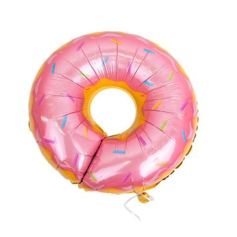 Frosted Pink Sprinkles Donut Balloons Party Decorations