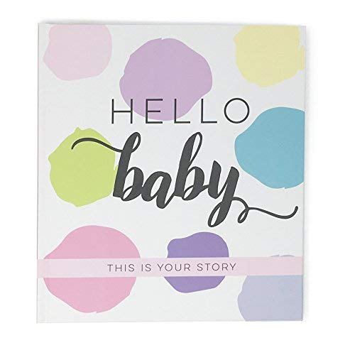 Baby Book Milestone Journal - girl version