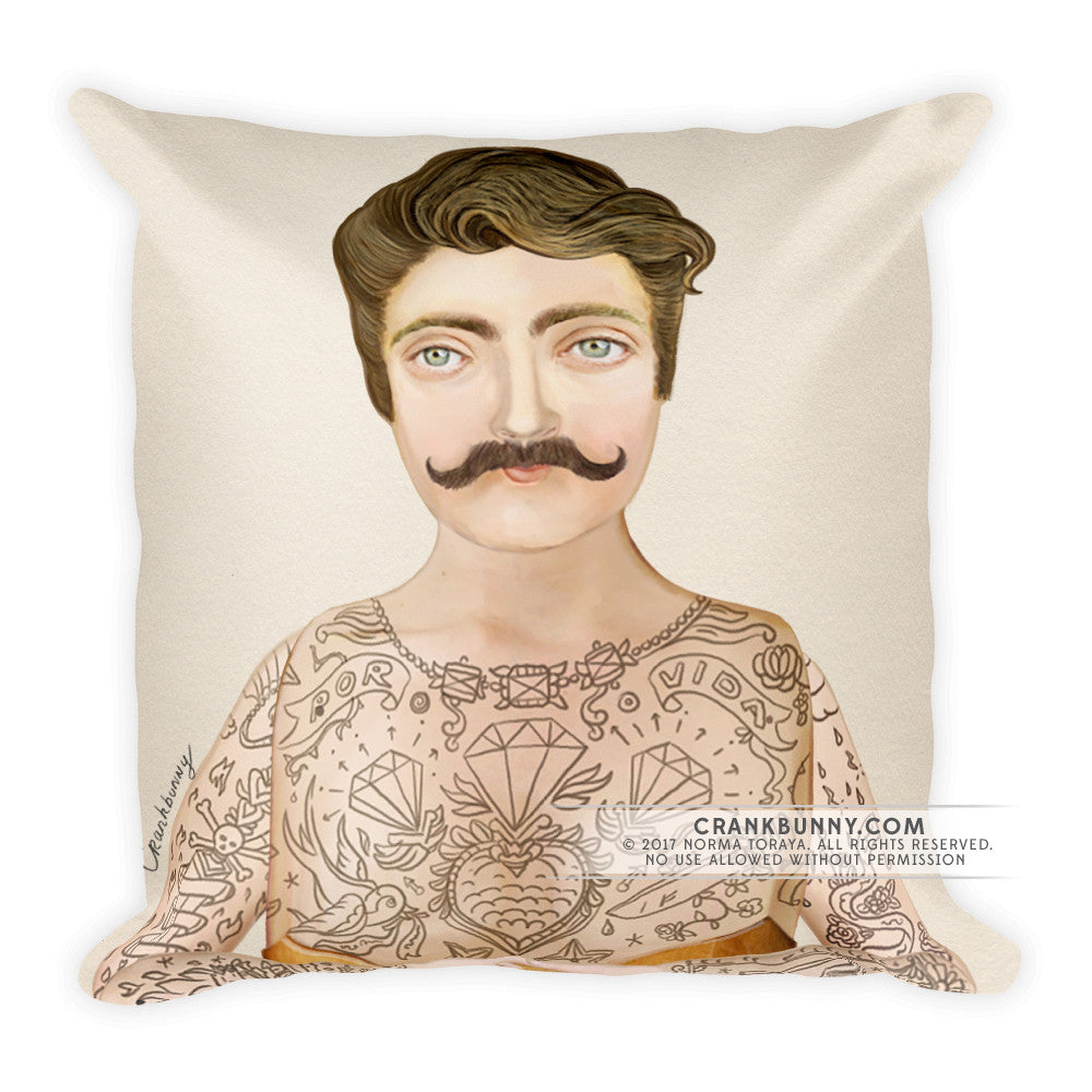 Pillow - Tattoo Man - Sir Craig