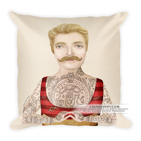 Pillow - Tattoo Man - Johnny the Boy