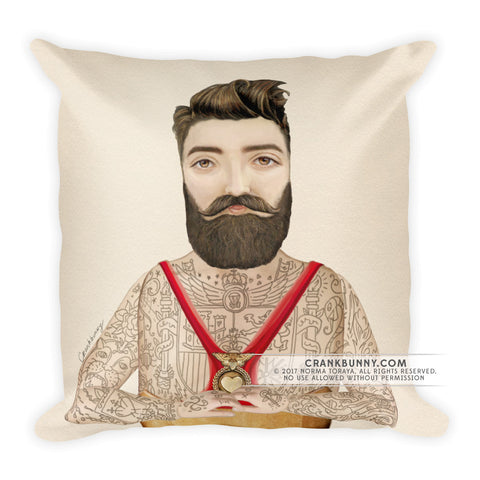 Pillow - Tattoo Wrestler - Don Xabier