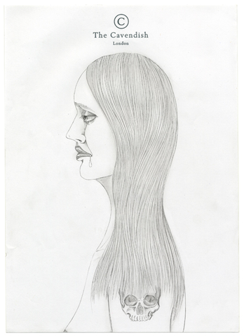 Ed Templeton - Profile Drawing Stationery Pencil